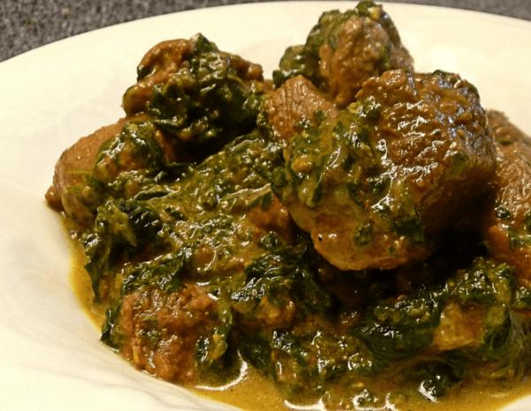 Lamb/ Beef Saag