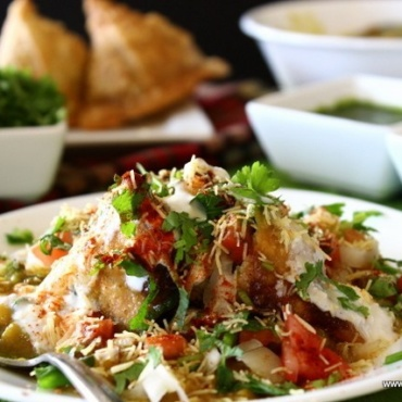 Samosa Chaat 2 Pc