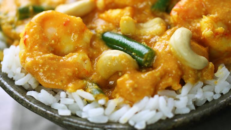 Fish /Shrimp Korma