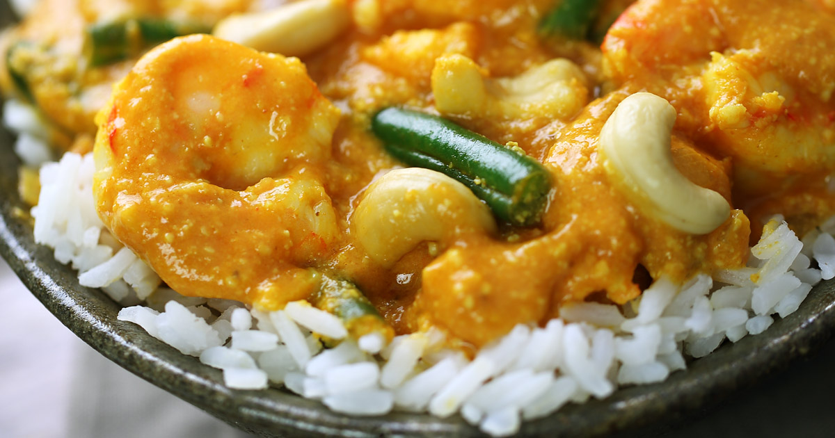 Fish /Shrimp Korma